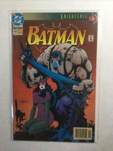 Batman 498 Newsstand Edition Near Mint- Nm- 9.2 Marvel