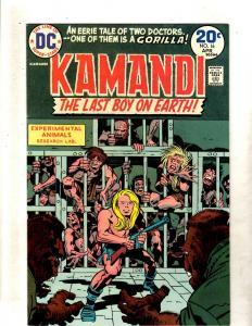 Kamandi # 16 NM DC Comic Book Jack Kirby Fourth World Bronze Age FM2