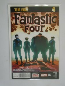 Fantastic Four #645 last issue 8.0 VF (2015 4th Series)
