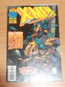 X MEN # 62 1997  Marvel   rogue SHANG-CHI FU MANCHU LEGACY VIRUS