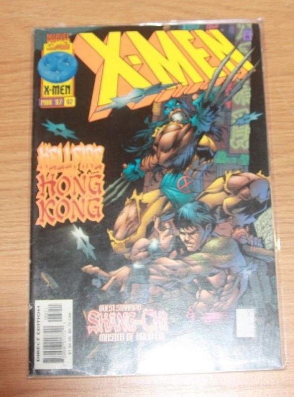 X-Men comic # 62 (Mar 1997, Marvel) wolverine +shang-chi kung fu
