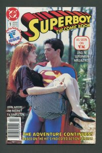 Superboy #1 (2nd Series) / 9.4 NM  Newsstand  February 1990