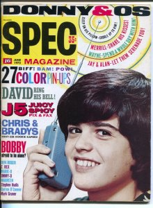 Spec #39 6/1972-16 Magazine-Bob Dylan-Osmonds-George Harrison-Brady Bunch-roc...