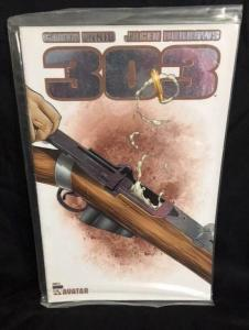 303 #6, NM, Garth Ennis, Burrows, Rifle, Avatar, 2004 2005, Platinum, COA