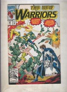 The New Warriors volumen 1 numero 026 (1992)