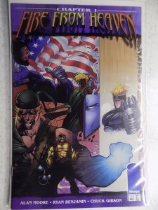 FIRE FROM HEAVEN # 1 IMAGE ALAN MOORE JIM LEE