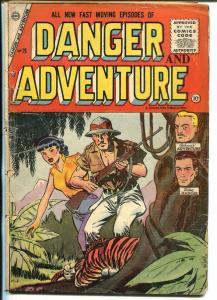 Danger & Adventure #26-1955-Charlton-jungle-Mike Danger-Johnnie Adventure-FR