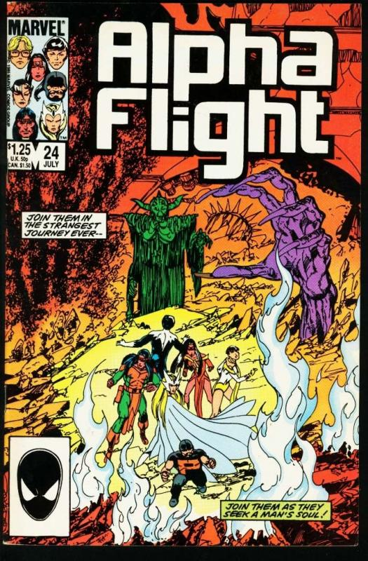 ALPHA FLIGHT #24-MARVEL COMICS-MUTANTS! NM