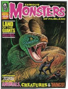FAMOUS MONSTERS OF FILMLAND 55 VG+ May 1969