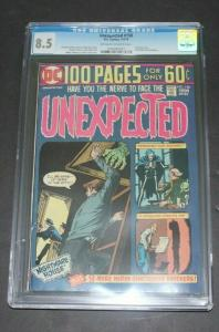 DC UNEXPECTED Nightmare House  #158 Graded Comic CGC 8.5 (RS)
