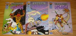 Space Usagi vol. 2 #1-3 VF/NM complete series - stan sakai - mirage comics set