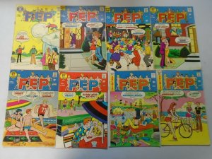 Bronze age Archie Comics PEP lot 27 different avg 5.0 VG FN