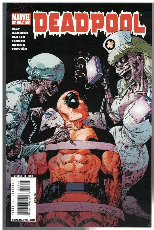 DEADPOOL (2008) 5 VF-NM  Feb. 2009