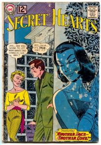 SECRET HEARTS #82 1963 comic book-DC ROMANCE-Great Cover G