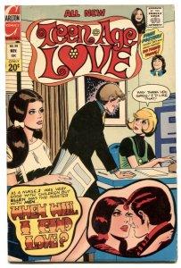 Teen Age Love #88 1972-David Cassidy & Susan Dey pin up VG/F