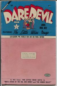 Daredevil #82 1951-Lev Gleason-Frank Frazetta-Little Wise Guys-VG