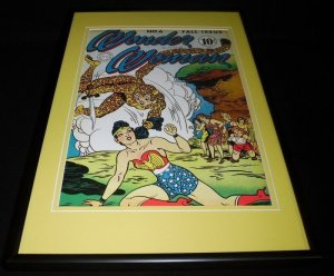 Wonder Woman #6 Framed 12x18 Cover Poster Display Official RP Cheetah