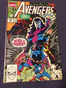 Avengers #318 Marvel Comics (1990) VG+ Nebula and Spider-Man