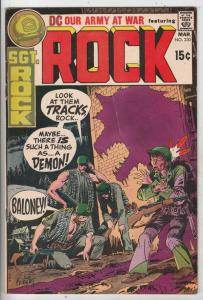 Our Army at War #230 (Mar-71) VF High-Grade Easy Company, Sgt. Rock
