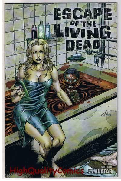 ESCAPE of the LIVING DEAD #2, NM, Terror, Zombies, 2005, more Horror in store