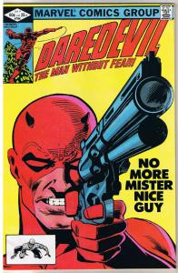 DAREDEVIL #184, VF, DD vs Punisher, Guns, Shot, Frank Miller, more in store