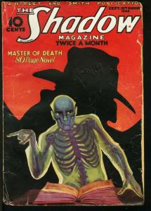 SHADOW 1933 SEP 15-STREET AND SMITH PULP-RARE VG