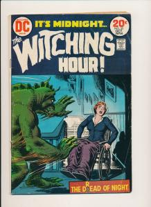 DC Comics It's Midnight, The Witching Hour #35 ~ G/VG 1973 (PF540)