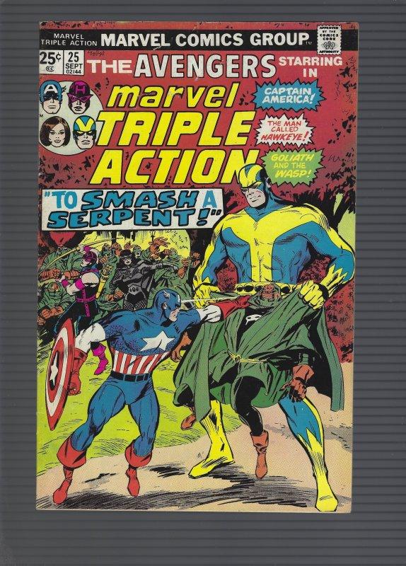 Marvel Triple Action #25 (1975)
