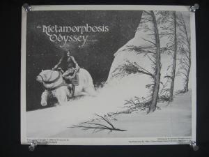 JIM STARLIN PORTFIOLIO METAMORPHOSIS ODYSSEY-4 PLATES