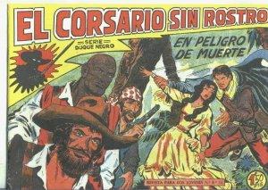 El Corsario sin Rostro, facsimil numero 09: En peligro de muerte