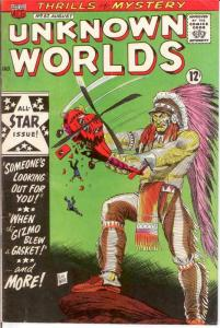 UNKNOWN WORLDS (1960-1967 ACG) 57 VG-F Aug. 1967 COMICS BOOK