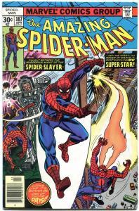 AMAZING SPIDER-MAN #167-MARVEL COMICS-high grade VF-