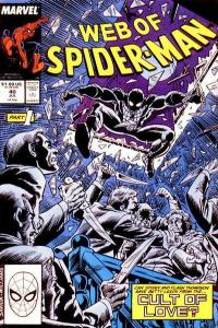 Web of Spider-Man (1985 series) #40, VF (Stock photo)