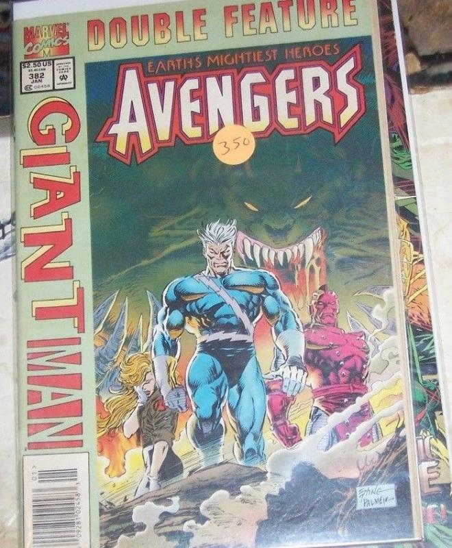 Avengers #382 (Jan 1995, Marvel) FLIP BOOK VARIANT  GIANT MAN
