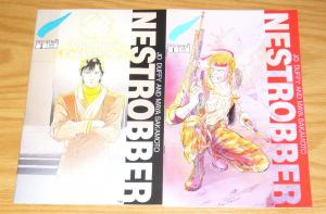 Nestrobber #1-2 VF/NM complete series - colleen doran - jo duffy set lot 1992