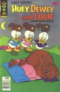 Huey, Dewey, and Louie Junior Woodchucks #58 FN; Gold Key | save on shipping - d