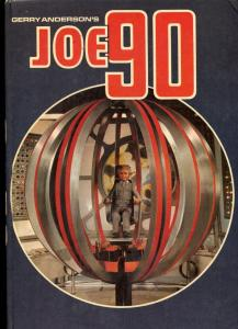 Gerry Anderson's JOE 90 Hardcover 1968- Comic stories VG/F