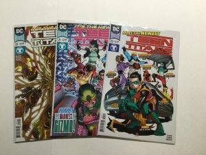 Teen Titans 20-22 20 21 22 Lot Run Set Near Mint Nm Dc Comics