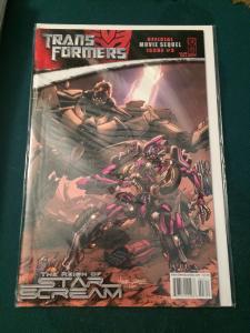 Transformers Official Movie Sequel #3 cover A