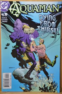 Aquaman #10 (2003) Dying From Thirst! Robinson Cover!