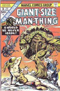 Giant-Size Man-Thing #3 (Feb-75) NM Super-High-Grade Man-Thing