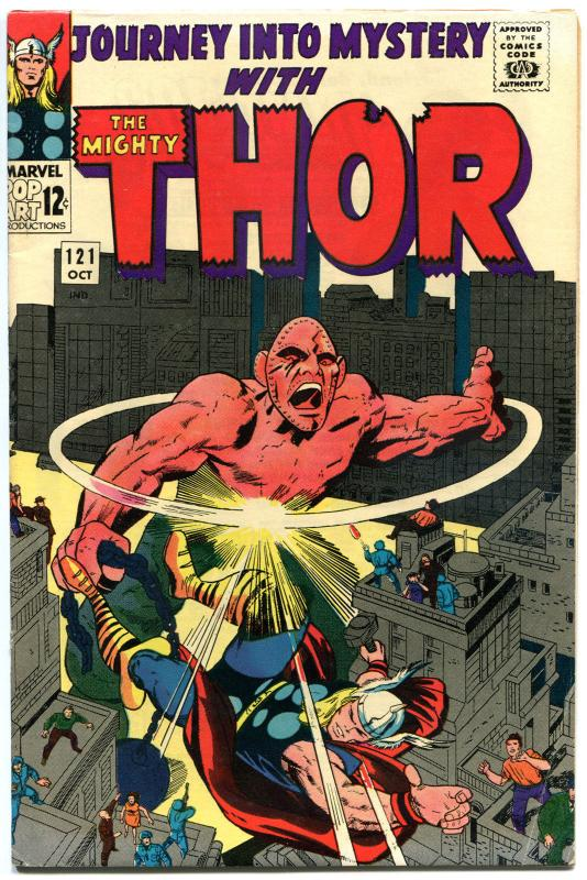 JOURNEY into MYSTERY aka THOR #121, VF-, Thunder God, 1952, Jack Kirby, VF-