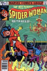 Spider-Woman (1978 series) #23, VF (Stock photo)