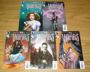 Tales of the Vampires #1-5 VF/NM complete series - joss whedon - templesmith set