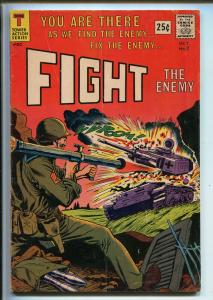 FIGHT THE ENEMY #2 1966-TOWER-AL WILLIAMS-WWII-GREEN BERETS-VIET NAM-vg