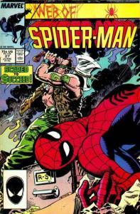 Web of Spider-Man (1985 series) #27, VF+ (Stock photo)
