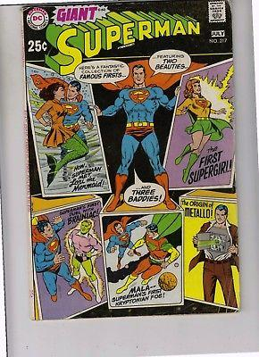 Superman 217 strict FN/VF High-Grade Supes just listed    40 pct Off BV$29.50