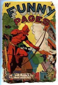 Funny Pages Vol.4 #1 1940 Centaur Arrow Rare Golden-Age comic book