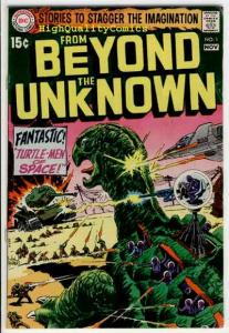 FROM BEYOND the UNKNOWN #1, VG+/FN, Kubet, Carmine Infantino,1969