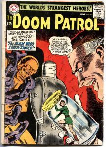 DOOM PATROL #88-1964-Origin of the CHIEF-DC-SILVER-AGE